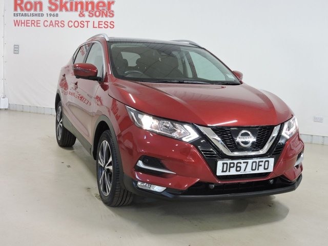 View our 2018 67 NISSAN QASHQAI (53) 1.2 N-CONNECTA DIG-T 5d 113 BHP with Glass Roof