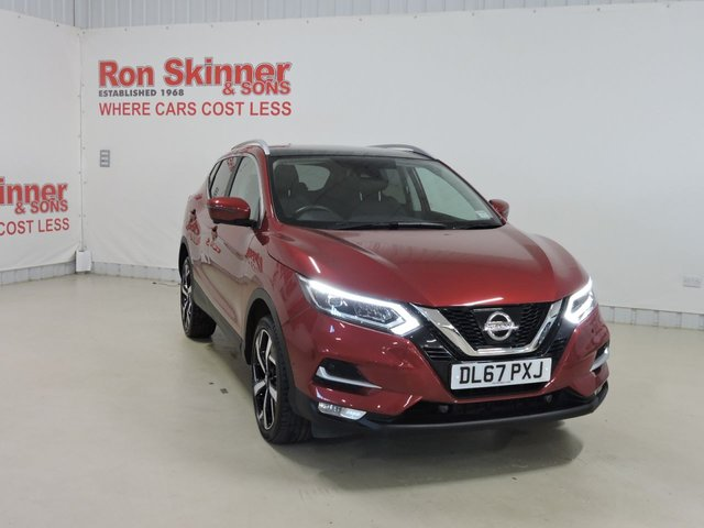 View our 2017 67 NISSAN QASHQAI 1.5 DCI TEKNA 5d 108 BHP with Glass Roof