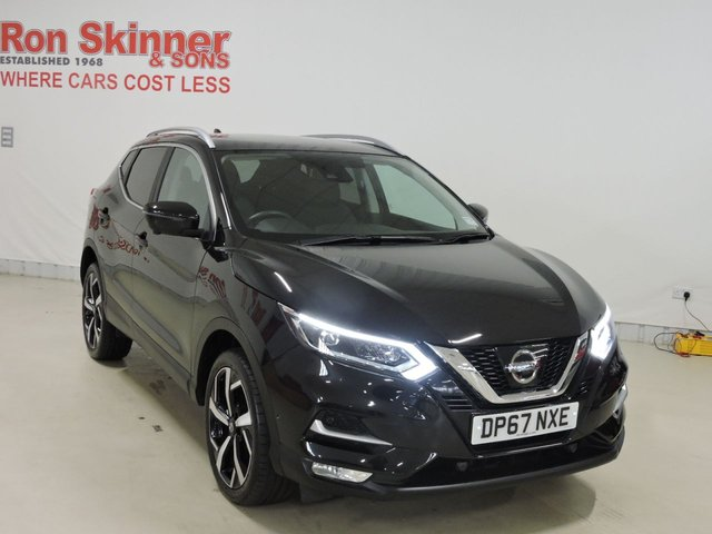 View our 2018 67 NISSAN QASHQAI 1.5 DCI TEKNA 5d 108 BHP with Glass Roof