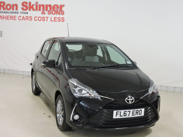 View our 2018 67 TOYOTA YARIS 1.0 VVT-I ICON 5d 69 BHP