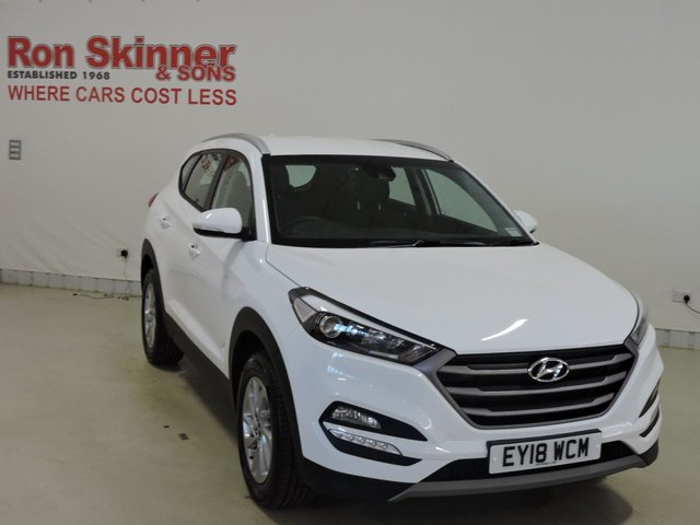 View our 2018 18 HYUNDAI TUCSON 1.6 GDI SE BLUE DRIVE 5d 130 BHP