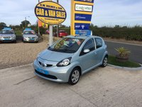 2006 TOYOTA AYGO + VVT-I 1.0 5 DOOR **2 OWNERS**12 SERVICE STAMPS**54000 MILES** £SOLD