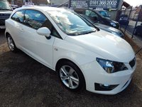 USED 2015 15 SEAT IBIZA 1.2 TSI FR 3d 104 BHP SAT NAV, AIR CONDITIONIG, ALLOY WHEELS, F.S.H, LOW MILEAGE