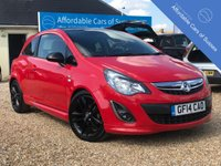 "USED 2014 14 VAUXHALL CORSA 1.2 LIMITED EDITION 3d 83 BHP Low Insurance Group + 17"" Alloys & Bodykit"