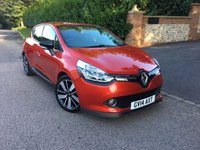 2014 RENAULT CLIO 0.9 DYNAMIQUE S MEDIANAV ENERGY TCE S/S 5d 90 BHP PLEASE CALL TO VIEW £7450.00