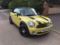 USED 2009 09 MINI CONVERTIBLE 1.6 COOPER 2d 120 BHP PLEASE CALL TO VIEW