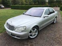 2003 MERCEDES-BENZ S CLASS 5.0 S500 4d AUTO 302 BHP One Doctor Owner FSH MOT 09/19 £4995.00