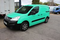 2016 CITROEN BERLINGO 1.6 625 LX L1 BLUEHDI S/S 1d 98 BHP Green from New £5995.00