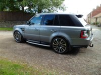 "USED 2012 12 LAND ROVER RANGE ROVER SPORT 3.0 SDV6 SE 5d AUTO 255 BHP SAT NAV. POWER BOOT. BLUETOOTH. 22"" ALLOY WHEELS. NEW TYRES. STUNNING SPORT"