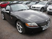 2004 BMW Z4 3.0 Z4 SE ROADSTER 2d AUTO 228 BHP £SOLD
