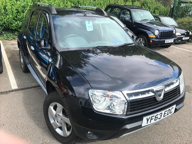 2013 63 DACIA DUSTER 1.5 LAUREATE DCI 4WD Great Value High Spec 4x4 Family SUV
