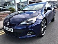 USED 2014 14 VAUXHALL ASTRA 1.4 GTC LIMITED EDITION S/S 3d 138 BHP