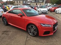 USED 2015 64 AUDI TT 2.0 TDI ULTRA S LINE 2d 182 BHP 1 PREVIOUS KEEPER, FULL SERVICE HISTORY