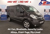 USED 2013 63 VAUXHALL VIVARO 2.0 2700 CDTI SPORTIVE 115 BHP +NO VAT+  +NO VAT+  Air Con, Bluetooth, Alloys, Security Locks, Electrick Pack.  **Drive Away Today** Over The Phone Low Rate Finance Available, Just Call us on 01709 866668