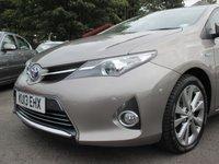 USED 2013 13 TOYOTA AURIS 1.8 EXCEL VVT-I 5d AUTO 99 BHP HYBRID ELECTRIC ENGINE - FREE ROAD TAX