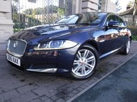 USED 2015 15 JAGUAR XF 2.2 D LUXURY 4d AUTO 163 BHP *** FINANCE & PART EXCHANGE WELCOME *** 1 OWNER SAT/NAV FULL LEATHER REVERSE CAMERA BLUETOOTH PHONE