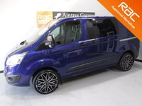 USED 2015 65 FORD TRANSIT CUSTOM 2.2 290 LIMITED LR DCB 1d 124 BHP GOOD VAN WITH A BEAUTIFUL COLOUR, 6 SEAT, AND FANTASTIC COMFORT HEATED SEATS, PARKING SENSORS, ALLOY WHEELS, CRUISE CON, FULL SERVICE HISTORY