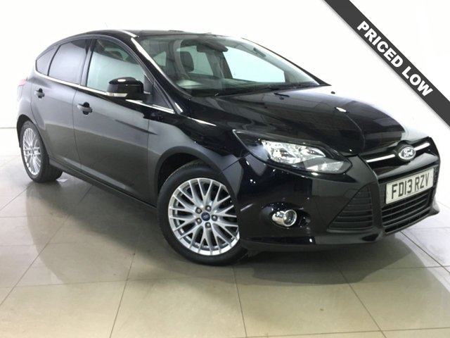 View our 2013 13 FORD FOCUS 1.6 ZETEC 5d 104 BHP