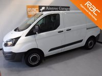 USED 2014 14 FORD TRANSIT CUSTOM 2.2 270 LR P/V 1d 99 BHP , IMMACULATE BODY WORK, ELEC WINDOWS, ARM REST, REMOTE CENTRAL LOCKING, CD PLAYER, BULK HEAD, CARGO LINING, POWER ASSISTED STEERING,  CRUISE CONTROL, WILL COME FULL SERVICED READY FOR WORK GREAT VAN for more Information Please Call Now on 0151525 4400,  07967141248. Family Run Business Since 1990