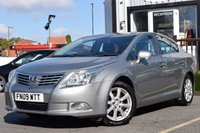 USED 2009 09 TOYOTA AVENSIS 1.8 TR VALVEMATIC 4d 145 BHP FULL SERVICE ON PURCHASE