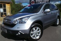 USED 2008 08 HONDA CR-V 2.2 I-CTDI ES 5d 139 BHP Very Low Mileage - 11 Service Stamps - Big Spec with Tow Bar
