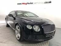 2012 BENTLEY CONTINENTAL 6.0 GT MDS 2d AUTO 567 BHP £49995.00