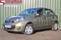 USED 2014 64 NISSAN MICRA 1.2 VISIA 5d 79 BHP High Quality hand picked cars by Stratton Car Company Uckfield Sussex - 01825 713 793