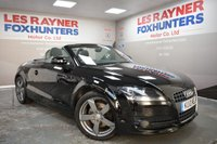 USED 2010 10 AUDI TT 1.8 TFSI 2d 160 BHP Sat Nav, Bluetooth, Air con, 18in alloys