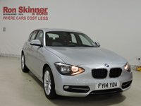 USED 2014 14 BMW 1 SERIES 1.6 116I SPORT 5d 135 BHP HATCHBACK