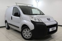 USED 2014 63 PEUGEOT BIPPER 1.2 HDI PROFESSIONAL 1DR 75 BHP LOW MILEAGE Cheap Road tax  £4970 NO VAT + MULTI FUNCTION WHEEL + RADIO/CD/MP3/USB + ELECTRIC WINDOWS + ELECTRIC MIRRORS