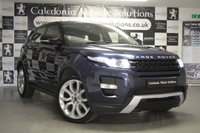 USED 2012 62 LAND ROVER RANGE ROVER EVOQUE 2.2 SD4 DYNAMIC 5d AUTO 190 BHP FANTASTIC SPEC, 12 MONTHS MOT & SERVICE HISTORY