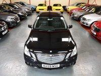 2009 MERCEDES-BENZ E CLASS E220 CDI BLUEEFFICIENCY SE 2.1 4d AUTO £8500.00