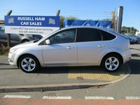USED 2009 09 FORD FOCUS 1.6 ZETEC 5d 100 BHP 5 Stamps Of Service History .New MOT & Full Service Done on purchase + 2 Years FREE Mot & Service Included After . 3 Months Russell Ham Quality Warranty . All Car's Are HPI Clear . Finance Arranged - Credit Card's Accepted . for more cars www.russellham.co.uk  Spare Key - Owners Book Pack.