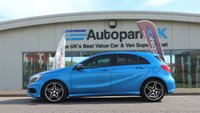 2013 MERCEDES-BENZ A CLASS 1.8 A180 CDI BLUEEFFICIENCY AMG SPORT 5d AUTO 109 BHP £13595.00