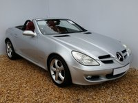 USED 2005 05 MERCEDES-BENZ SLK 1.8 SLK200 KOMPRESSOR 2d 161 BHP