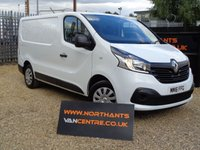 2016 RENAULT TRAFIC 1.6 SL27 BUSINESS PLUS ENERGY DCI SWB 5d 120 BHP £10990.00