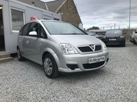 USED 2007 07 VAUXHALL MERIVA Energy 1.4i 16V 5dr ( 90 bhp ) Low Mileage 4 x New Tyres Just Fitted