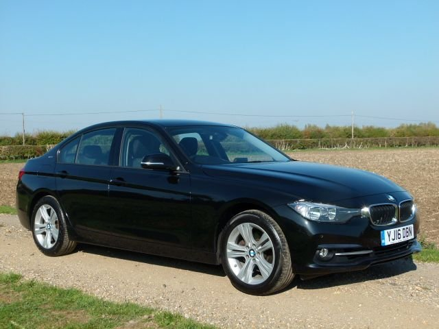 USED 2016 16 BMW 3 SERIES 2.0 330E SPORT 4d AUTO 181 BHP Sat Nav