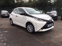 2015 TOYOTA AYGO 1.0 VVT-I X 5d ONE OWNER WITH TOYOTA SERVICE HISTORY  £5250.00