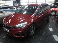 2016 BMW 2 SERIES 2.0 218D SPORT GRAN TOURER 5d AUTO 148 BHP £17990.00