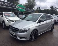 2014 MERCEDES-BENZ B CLASS 1.5 B180 CDI BLUEEFFICIENCY SPORT 5d 109 BHP £11489.00