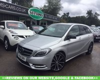 USED 2014 14 MERCEDES-BENZ B CLASS 1.5 B180 CDI BLUEEFFICIENCY SPORT 5d 109 BHP