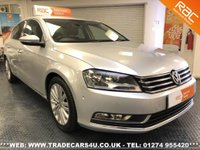 USED 2012 12 VOLKSWAGEN PASSAT 2.0 TDI (170) BMOTION TECH SPORT WITH SAT NAV  UK DELIVERY* RAC APPROVED* FINANCE ARRANGED* PART EX