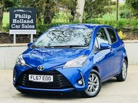 USED 2018 67 TOYOTA YARIS 1.0 VVT-I ICON 5d 69 BHP Reverse parking camera, Cruise control, Bluetooth