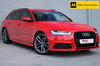 USED 2015 15 AUDI A6 2.0 AVANT TDI ULTRA S LINE BLACK EDITION 5d 188 BHP AUDI FSH + 20's + NAV +LEATHER
