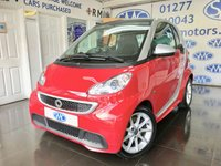 2012 SMART FORTWO 1.0 PASSION MHD 2d AUTO 71 BHP £4500.00