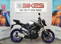 USED 2014 14 YAMAHA MT 125 LEARNER LEGAL COMMUTER 125CC