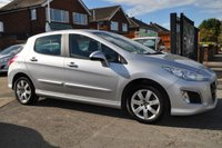 USED 2012 12 PEUGEOT 308 1.4 ACTIVE 5d 98 BHP