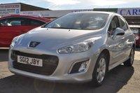 2012 PEUGEOT 308 1.4 ACTIVE 5d 98 BHP £3495.00