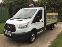 USED 2015 65 FORD TRANSIT 2.2 350 L4 EXTRA LONG, WITH TAIL LIFT 124 BHP Tail Lift, Extra Long, Light weight Body
